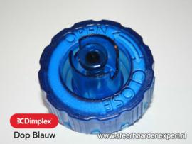 Tankdop Blauw voor inbouw waterdamp haarden - Faber Dimplex