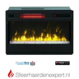 Classicflame CF26 met 3D vlam effect, kiezels en infrarood verwarming