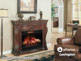 Aflamo schouw Lexington Empire Kersen + elektrische sfeerhaard