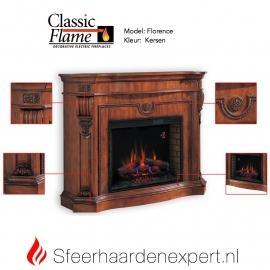 Classic Flame sfeerhaard met schouw Florence Kersen