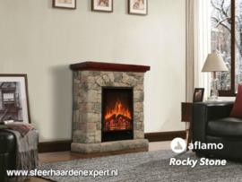 Aflamo Rocky - Schouw ombouw met elektrische sfeerhaard LED50