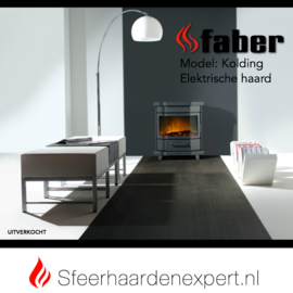 Faber Dimplex Kolding - Vrijstaande elektrische haard