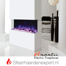 Amantii - Driezijdige elektrische inbouw sfeerhaard Tru-View 72 182 x 36