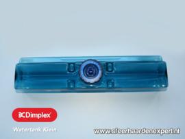 Watertank blauw  - klein model voor waterdamp haarden - Faber Dimplex
