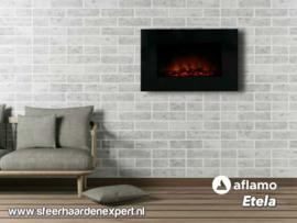 Aflamo Etela - Elektrische wandhaard LED voor aan de muur