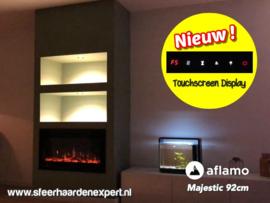 Aflamo Majestic 92cm breed - Elektrische inbouw sfeerhaard