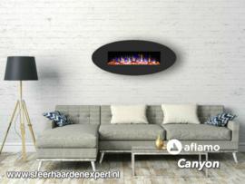 Aflamo Canyon - Elektrische Multicolor LED wandhaard voor aan de muur
