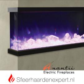 Amantii - Driezijdige elektrische inbouw sfeerhaard Tru-View 60 152 x 36