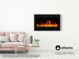 Aflamo Majestic 92 - Wall Fire Elektrisch