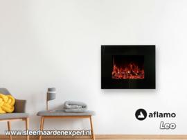 Aflamo Leo - Elektrische wandhaard LED voor aan de muur