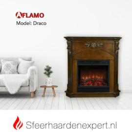 Aflamo Draco - Elektrische haard met schouw ombouw