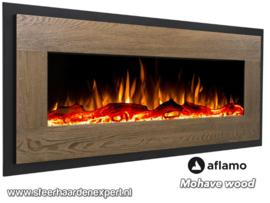Aflamo Mohave Houtlook - Elektrische wand hanghaard