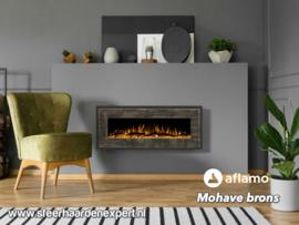 Aflamo Mohave Brons - Elektrische wand hanghaard