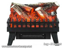 Aflamo Logset Heat - Elektrische inzethaard met verwarming