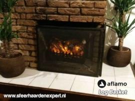Aflamo Logset - Elektrische inzethaard met gloei effect