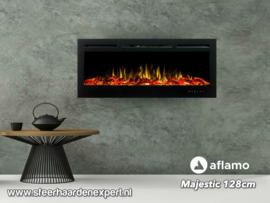 Aflamo Majestic 128 - Wall Fire Elektrisch