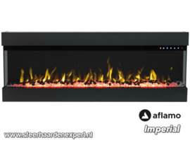Aflamo Imperial 72 - 182cm Elektrische haard driezijdig