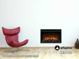 Aflamo LED 70 - Elektrische inbouwhaard 66 x 48cm