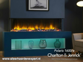 Charlton & Jenrick Polaris 1600-e  3-zijdige haard