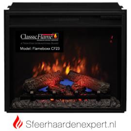 Classicflame CF23 elektrische LED inbouw sfeerhaard 60,5 x 51 cm