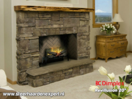 "Dimplex Revillusion 20""  - Elektrische inzethaard met verwarming"