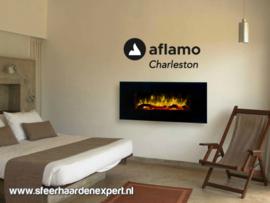 Aflamo Charleston XL - De elektrische sfeerhaard 128cm