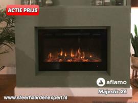 Aflamo Majestic 66cm breed - Elektrische inbouw sfeerhaard