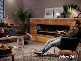 Dimplex Prism 74 - 188cm elektrische LED inbouwhaard