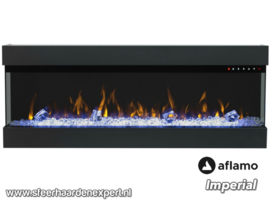 Aflamo Imperial 60 - 152cm Elektrische haard driezijdig