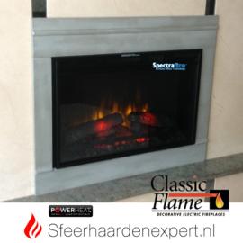 Classic Flame CF26 elektrische LED inbouw sfeerhaard 68,5 x 45 cm