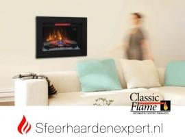 Classicflame CF33 elektrische LED inbouw sfeerhaard 86,5 x 66 cm