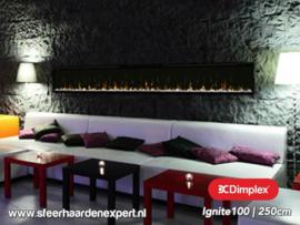 Dimplex Ignite XL100 | 250cm - Elektrische inbouwhaard