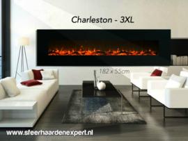 Aflamo Charleston 3XL - De sfeerhaard van 182cm