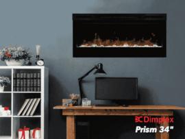 Dimplex Prism 34 - 87cm elektrische LED inbouwhaard