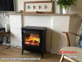 Dimplex Lucia - Vrijstaande elektrische haard met verwarming