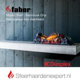 Dimplex Shelf - Wandpaneel met sfeerhaard waterdamp