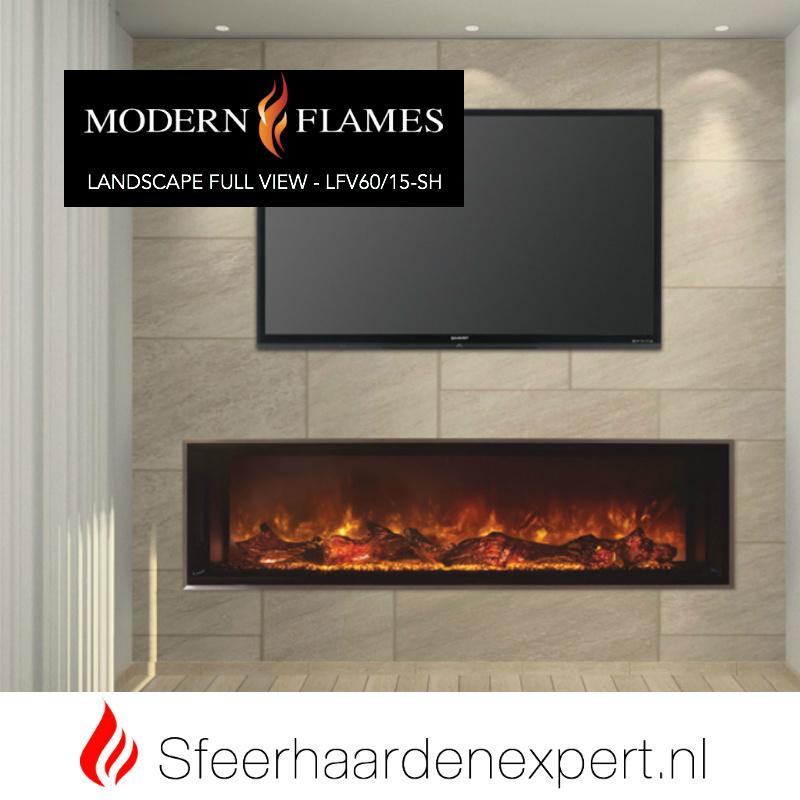 Modern Flames - Ambiance Full View LFV60/15-SH ( 152,4 x 38 cm )