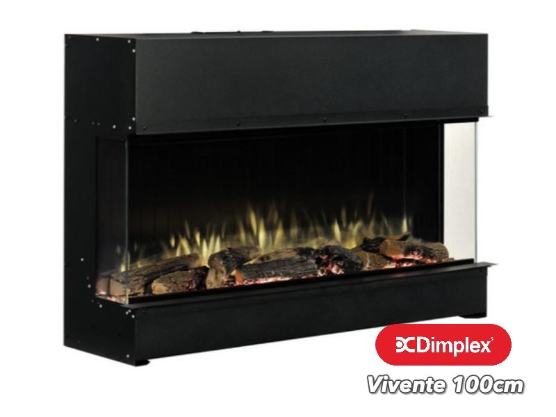 Dimplex Vivente 100 | 3 zijdige elektrische sfeerhaard