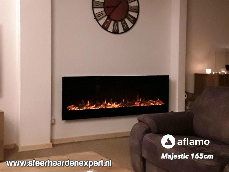Aflamo Majestic 165 - Wall Fire Elektrisch