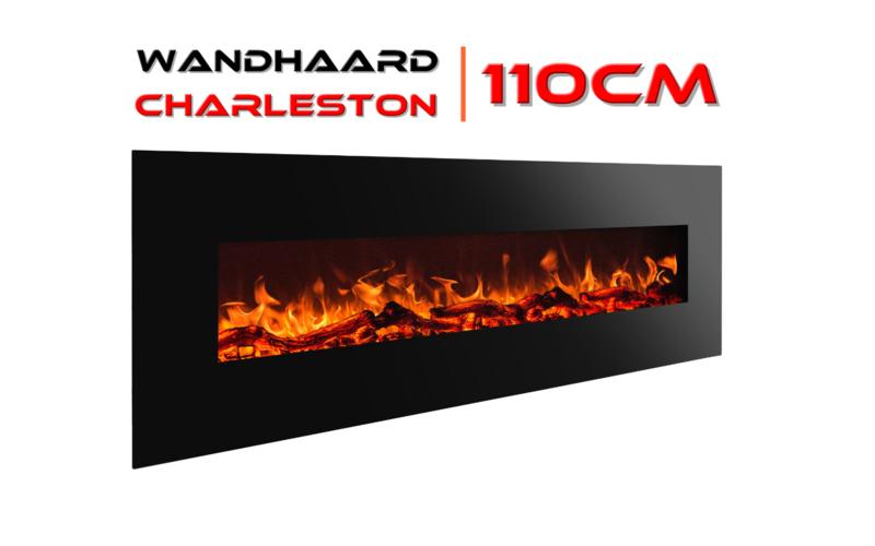Aflamo Charleston L - De elektrische sfeerhaard 110cm