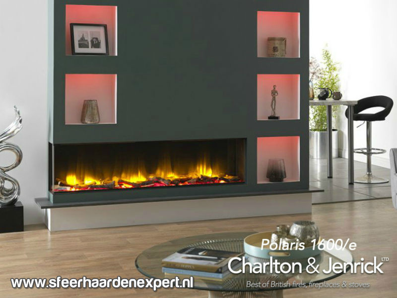 Charlton & Jenrick Polaris 1600 elektrische haard