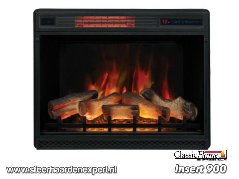 Classicflame Insert 900 met 3D vlam effect en verwarming