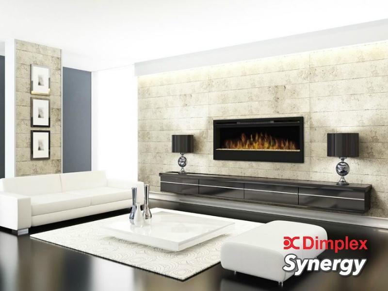 Dimplex Synergy - 128cm elektrische LED inbouwhaard