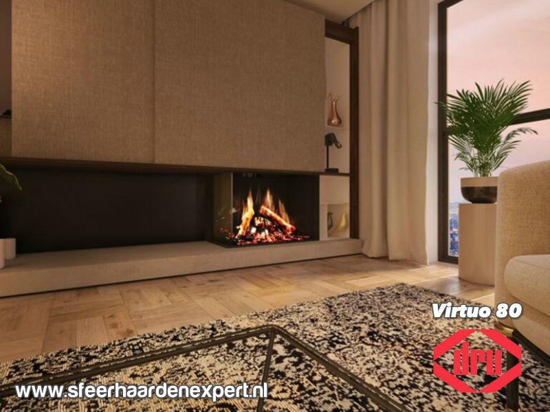 Dru Virtuo 80 - Elektrische hoekhaard 2-zijdig