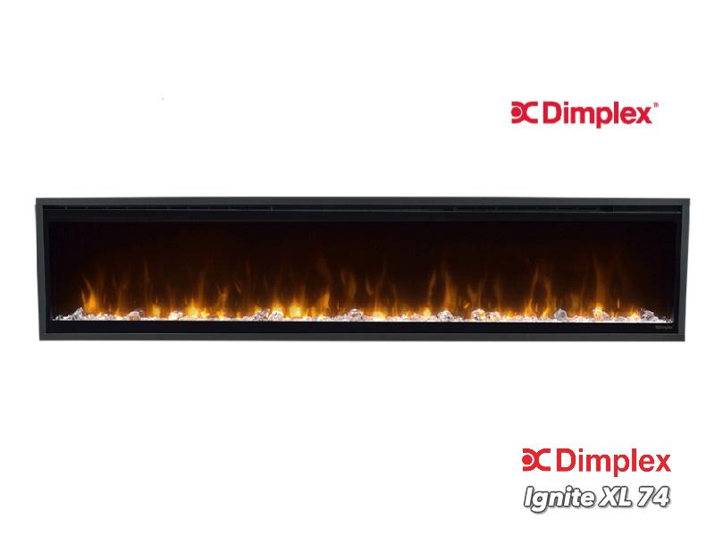 Dimplex Ignite 74 XL 188cm - Elektrische inbouwhaard