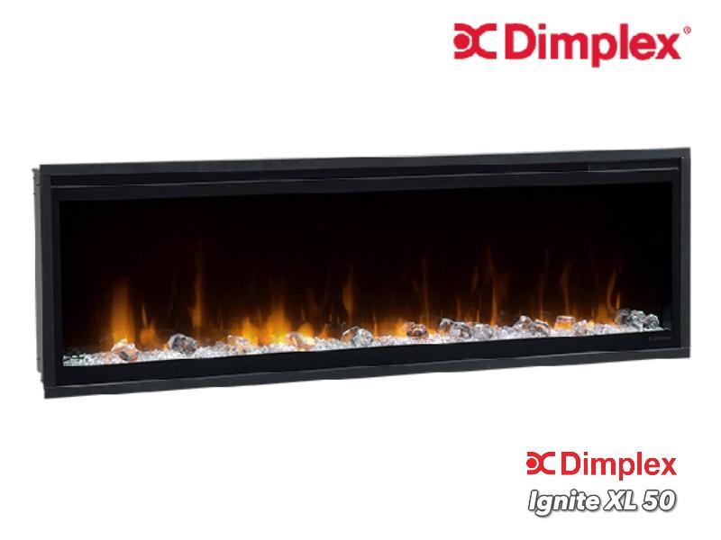 Dimplex Ignite 50 XL 128cm - Elektrische inbouwhaard