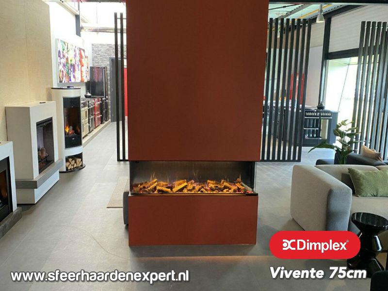 Dimplex Vivente 75 | 3 zijdige elektrische haard
