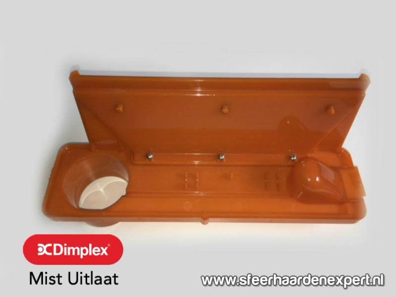 Tank houder oranje voor inbouw waterdamp haarden - Faber Dimplex