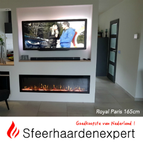 afbeeldingen Aflamo royal Paris en Dimplex Ignite