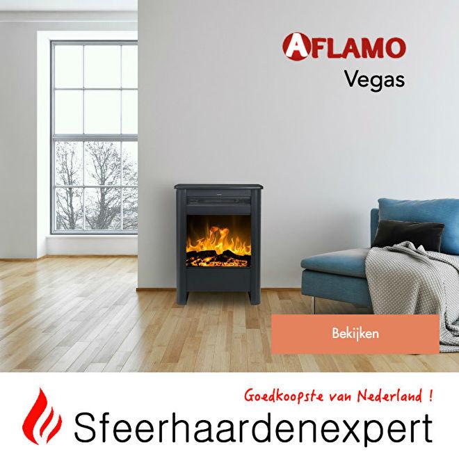 Aflamo Vegas vrijstaande elektrische haardje